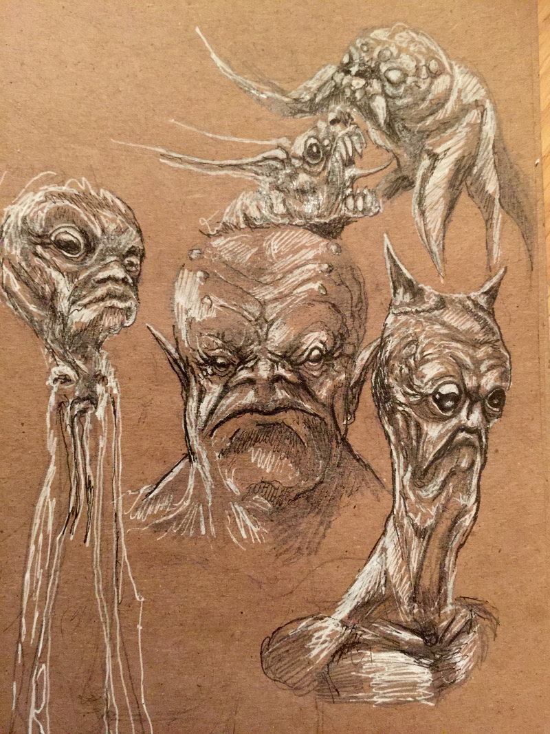 Yet More Creature Speed Sketches